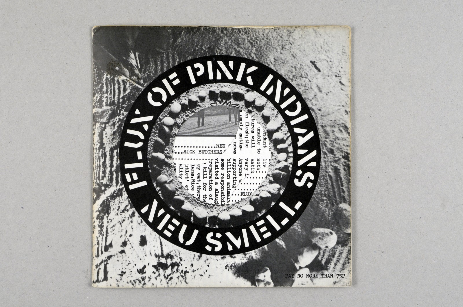 LA COLLECTION expo read into my black holes CRASS FLUX OF PINK INDIANS NEU SMELL