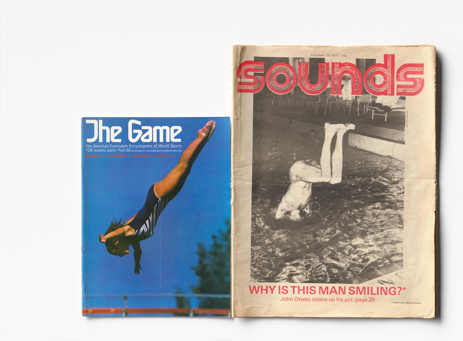 COVER THE GAME #26:1970 - SOUNDS 10:12:1977
