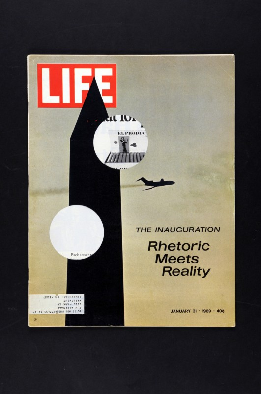 LA COLLECTION expo read into my black holes LIFE january 31 - 1969
